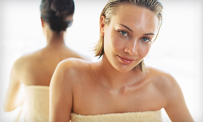 Hulya MedSpa - Glover Park: One or Two Facials with Body Wraps, or Facial and Body Scrub with Hand Treatment at Hulya MedSpa (Up to 64% Off)