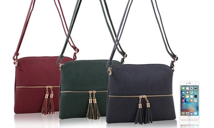 Crossbody Handbag for the iPhone and iPad Mini