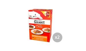 Gourmet® Mon Petit: Coupon Gourmet® Mon Petit 2 packs 6x50g au choix, valable dans tous hypermarchés, supermarchés et supérettes en France