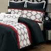 8-Piece Embroidered Comforter Set