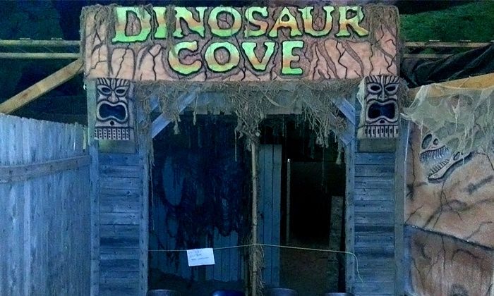 Treasure Hunters - Crystal City: Admission for 2, 4, or 10 to Dinosaur Cove Spooky Trail from Treasure Hunters (Up to 60% Off)