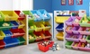 Kids' Bookcase and Toy Box