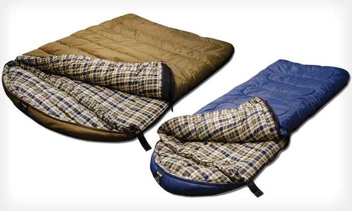 Up To 61 Off Grizzly Sleeping Bags Groupon