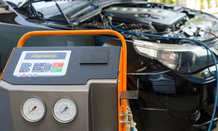 Air Conditioning Service and Re-Gas at Eastleigh Autoworks