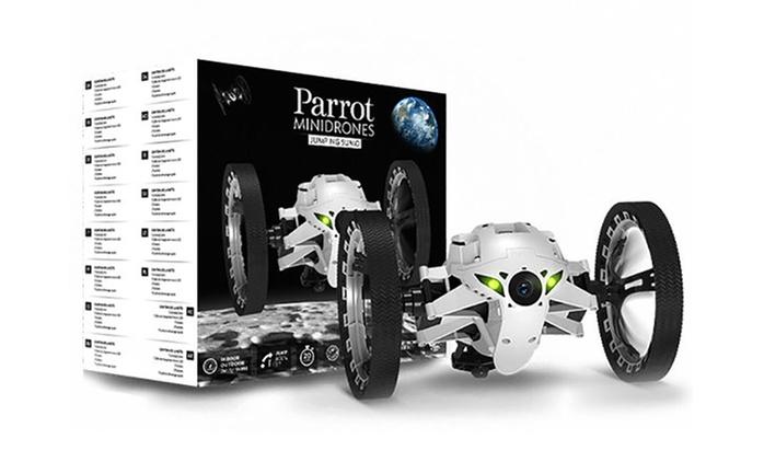 MiniDrone Jumping Sumo de Parrot reacondicionado por 49,95 € (11% de descuento) con envío gratuito