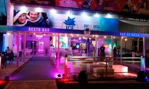 Ice Bar Villa Carlos Paz: Ingreso al Bar de Hielo + barra libre en vasos de hielo en Ice Bar Villa Carlos Paz