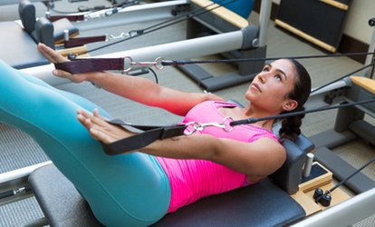 image for Two or Four Reformer <strong>Pilates</strong> Stretch Classes at Stretch ATL (Up to 79% Off)