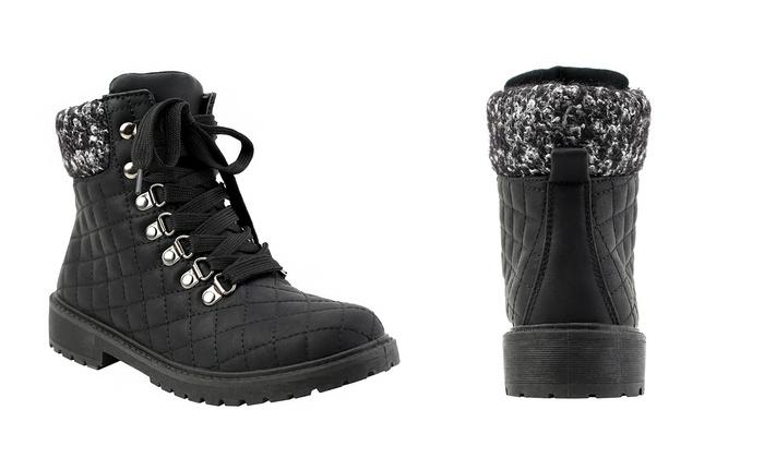 Olivia Miller Women's Fashion Work Boots (Size 11)