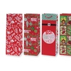 Christmas Wine Bottle Gift Bags (12-Pack)