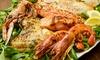 Ristorante Gambero Rosso Agrigento - Porto Empedocle: Menu grigliata di pesce con calice di vino al Ristorante Gambero Rosso di Porto Empedocle (sconto fino a 68%)