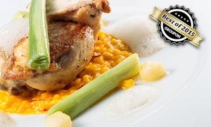 Restaurant Burgkeller Meißen: Saisonal wechselndes Burgkeller-Gourmet-Menü in 4 Gängen für Zwei oder Vier im Restaurant Burgkeller Meißen ab 39,50 €