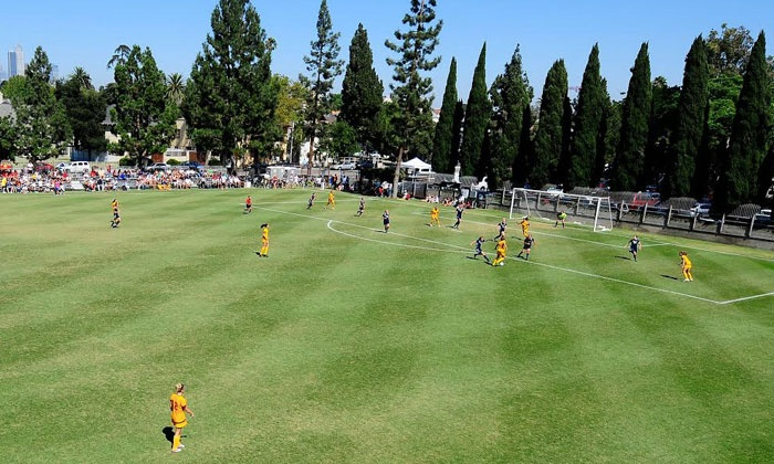 USC - Women's Soccer Camps - McAlister Field: $99 for a One-Day Middle School Girls' Soccer Camp at USC on April 30, 2016 ($180 Value)