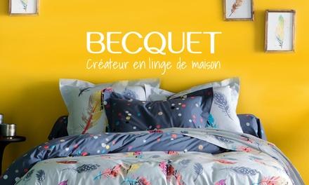 Bon dachat de 5 € donnant droit à 50 € offerts avec livraison gratuite dès 99 € dachat sur le site Becquet