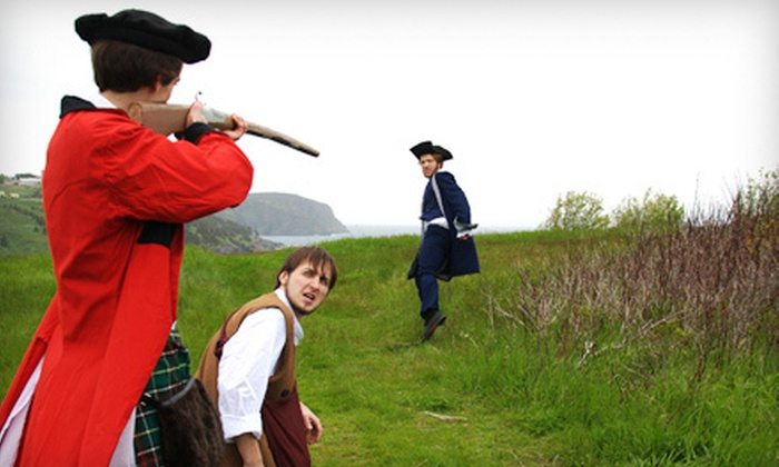 """Torbay Theatre - Multiple Locations: Torbay Theatre's """"Solomon Gosse's Birthday: A Torbay Musical"""" or """"1762: The Taking of Torbay"""" for Two or Four (Up to 52% Off)"""