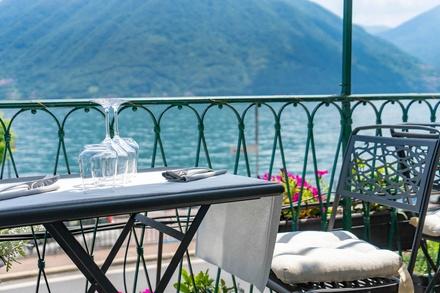 Menu Gourmet da 3 o 4 portate con vino per 2 persone al Ristorante Il Sorriso Argegno (sconto fino a 44%)