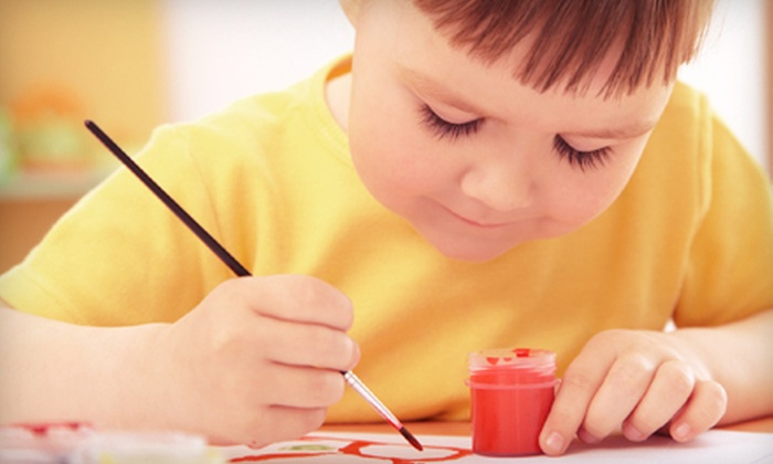 Canvas, Paint and Wine, Oh My! - San Clemente: Children's Painting Workshop for One or Two at Canvas, Paint and Wine, Oh My! in San Clemente (Up to 53% Off)