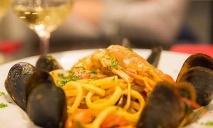 Menú italiano para 2 o 4 con opción premium en Restaurante Spacca Napoli Ruzafa (hasta 70% de descuento)