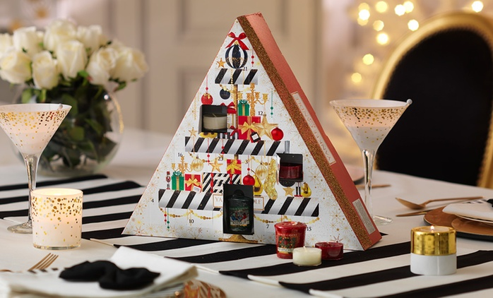 Yankee Candle Holiday Party Advent Calendar 2016 Christmas Collection from £19.99 (Up to 50% Off)