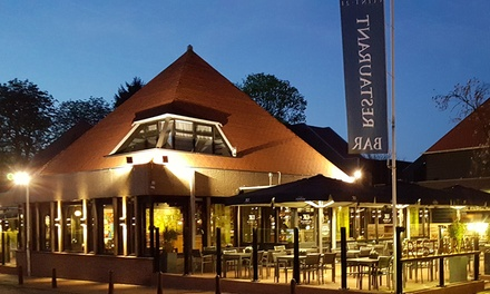 Bosrijk Drenthe: tweepersoonskamer, naar keuze met ontbijt in Hotel Bieze