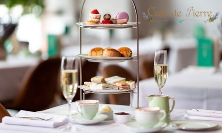 Cream Tea, Classic or Sparkling Afternoon Tea for Two at Cafe De Pierre, 7 Locations (Up to 39% Off) (London)