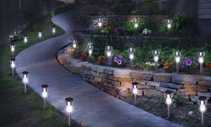 Maison deals bons plans et promotions - Luces jardin solares ...