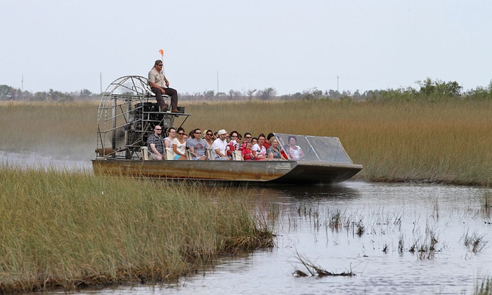 Swmp Tour for Two or Four or Adventure Package Admission for One, Two, or Four at Gator Country (Up to 51% Off)