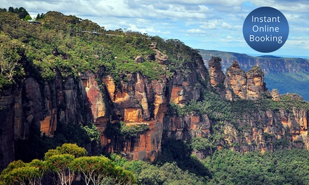 Blue Mountains: 1 or 2Night Stay for Two People with Option for Wine or Yulefest Dinner at Katoomba Town Centre Motel