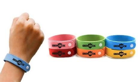 Set de 10, 20 o 30 pulseras anti mosquitos (envío gratuito)