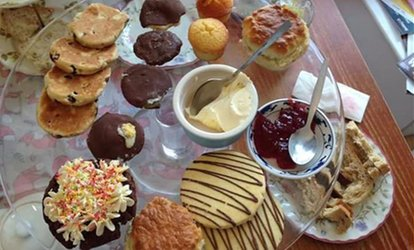 image for Welsh Afternoon Tea for Two or Four at Foxy's Deli and Cafe
