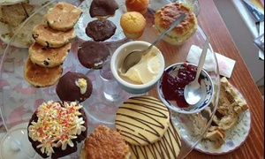 Foxy's Deli and Cafe: Welsh Afternoon Tea for Two or Four at Foxy's Deli and Cafe