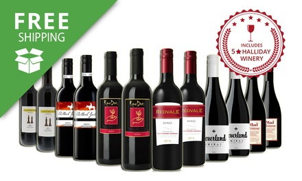 $69 Bottles of Mixed Red Wines Including Five Star Winery from SA, WA, Margaret River Don't Pay $199