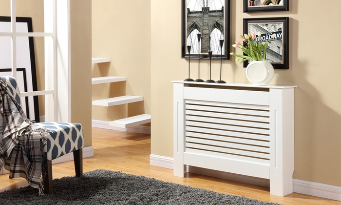 Meuble cache radiateur groupon shopping for Mettre un meuble devant un radiateur