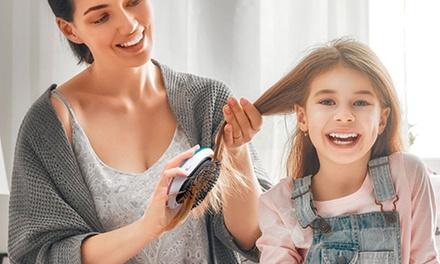1 o 2 cepillos masajeadores iónicos para el cabello con dos funciones