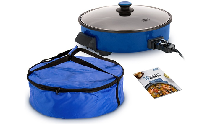 "Dash 14"" Nonstick Electric Skillet With Carry Bag"