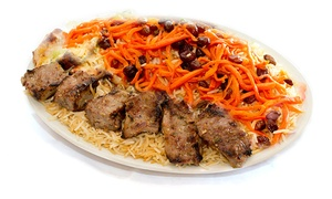 Hasna's Afghan Fusion Cuisine: Afghan Fusion Cuisine for Two or Four at Hasna's Afghan Fusion Cuisine (40% Off)