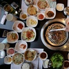 Korean Buffet for Two, Monument