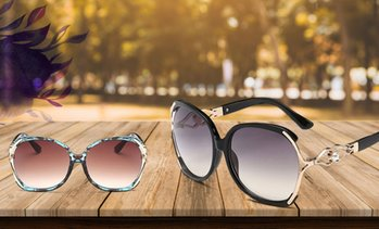 Up to 88% Off Luxury Party Oversized Sunglasses from Novadab