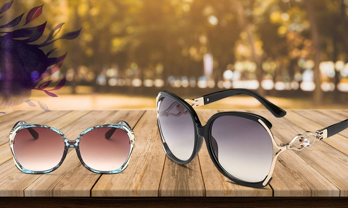 3bfdfbc3420f Up to 90% Off Luxury Party Oversized Sunglasses from Novadab
