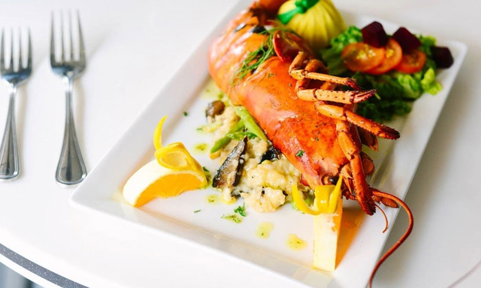 Chive Sea Bar & Lounge - Downtown Savannah: Seafood and Cocktails at Chive Sea Bar & Lounge (Up to 50% Off). Three Options Available.