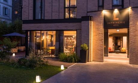 París: habitación Clásica o Superior, vino y sauna y desayuno para 2 en L'Imprimerie Hôtel 4*