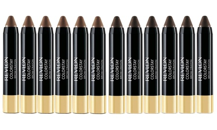 $15 for a Six-Pack of Revlon ColorStay Brow Crayons in Blonde, Dark Brown or Soft Brown (Don't Pay $78)
