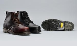 Goodyear Welt Men's Slip-Resistant Work Boots