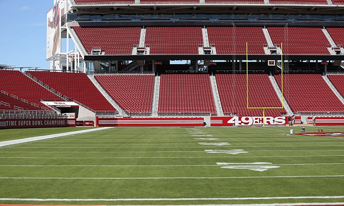 49ers Training Camp - Levi's Stadium: Groupon Exclusive – $15 for One Ticket to a 49ers Training-Camp Practice, Plus a Self-Guided Stadium Tour