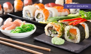 Teppanyaki Hibachi Grill: Hibachi Buffet for Two at Teppanyaki Hibachi Grill (Up to 37% Off). Three Options Available.