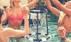 Floating Pool Basketball Hoop Set (9-Piece)
