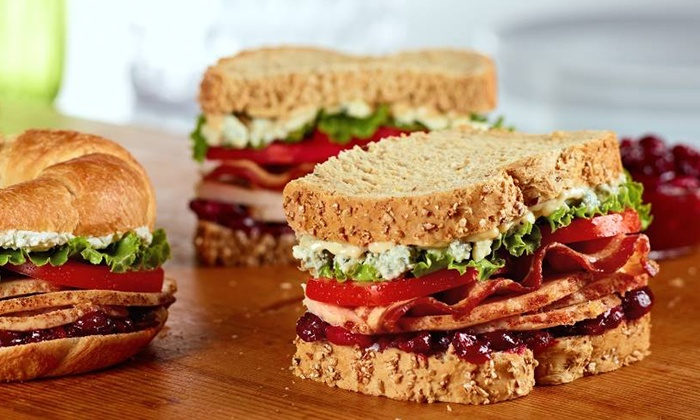 The HoneyBaked Ham Company - Concord: Sandwich and Cookies for Two or Four at HoneyBaked Ham (50% Off)