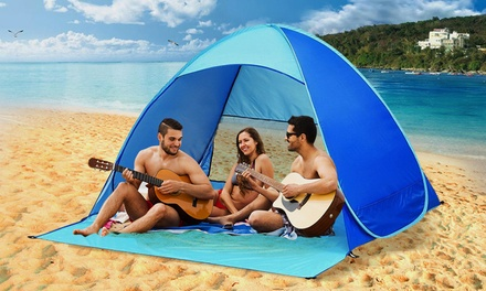 .95 for a TwoPerson PopUp Beach Tent or .95 for FourPerson PopUp Beach Tent