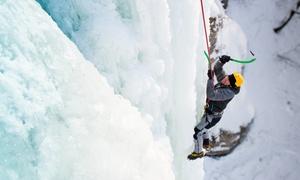 LA LIBERTÉ NORD-SUD: Cours d'escalade de glace pour 1, 2 ou 4 personnes avec La Liberté Nord-Sud (jusqu'à 46 % de rabais)