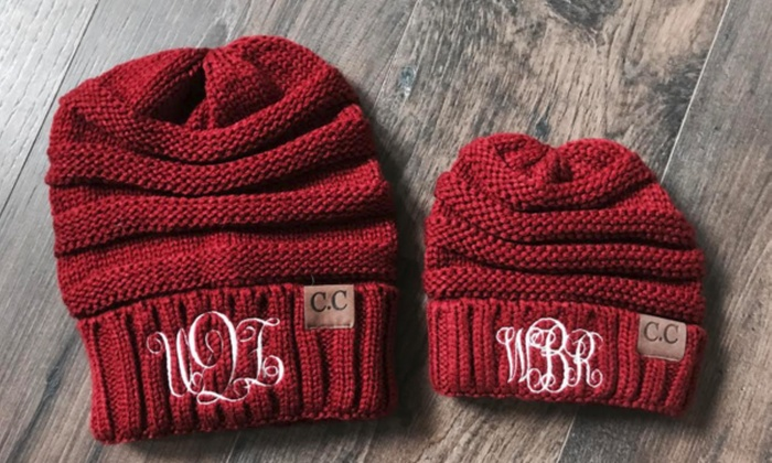 0ea34fb4024 Up to 80% Off Personalized Embroidered Beanies from Qualtry