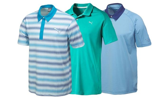 Puma Men's Golf Polo Shirts